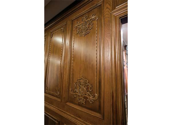 武汉雕花实木护墙板公司——原木堂