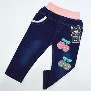 秋季新款童裤纯棉牛仔裤