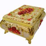 纺织花边小礼盒
