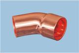 45°承插弯头-紫铜管件