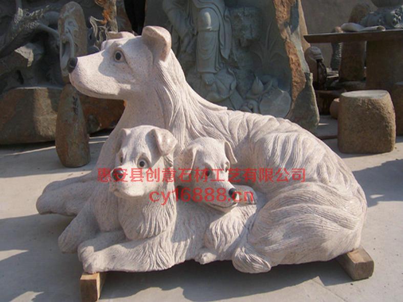 石材动物,动物工艺,创意动物雕像