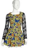 2014年新款提花蕾丝花包裙