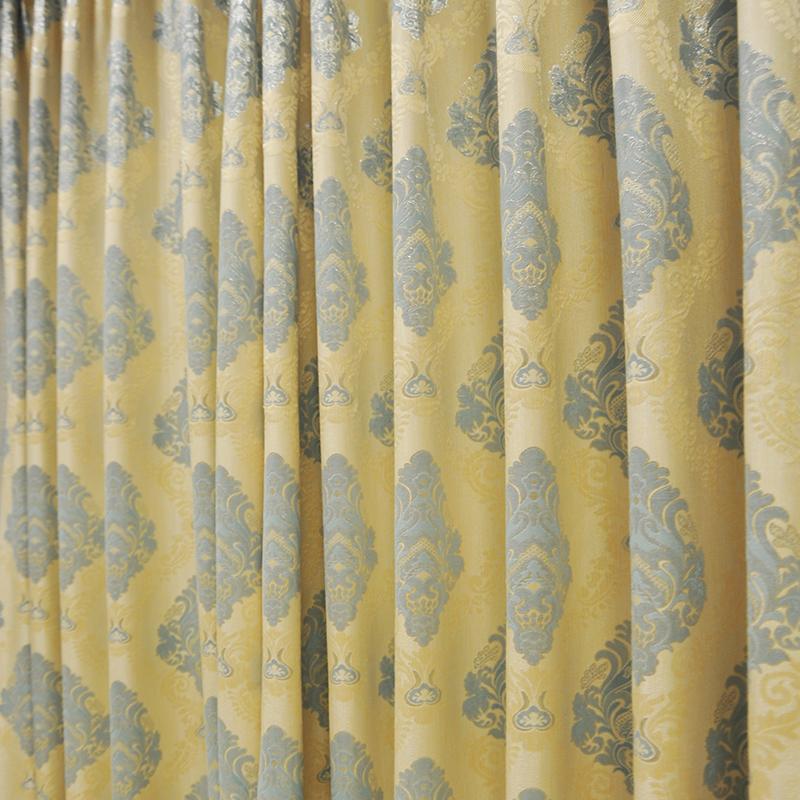 高档奢华欧式窗帘客厅卧室成品
