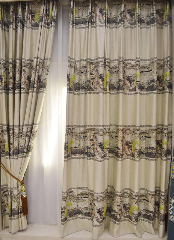 窗帘布批发厂家直接供应,加厚