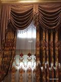 厂家直销 高档窗纱 植绒玻璃纱 欧式古典 窗帘窗纱批发