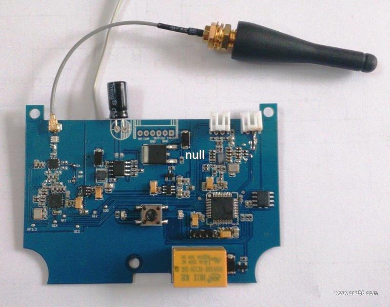 闪烁门铃电路板的焊接