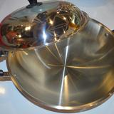 美坚新不锈钢锅 汤锅 加厚复底 锅具 电磁炉锅通用
