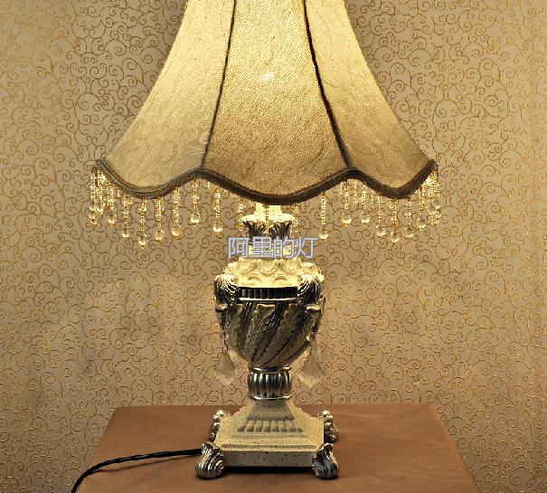 欧式卧室床头台灯
