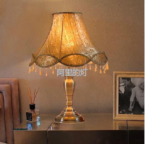 书房卧室床头灯 欧式台灯