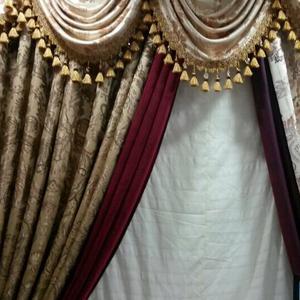 供应欧式古典窗帘 限宽3米窗帘