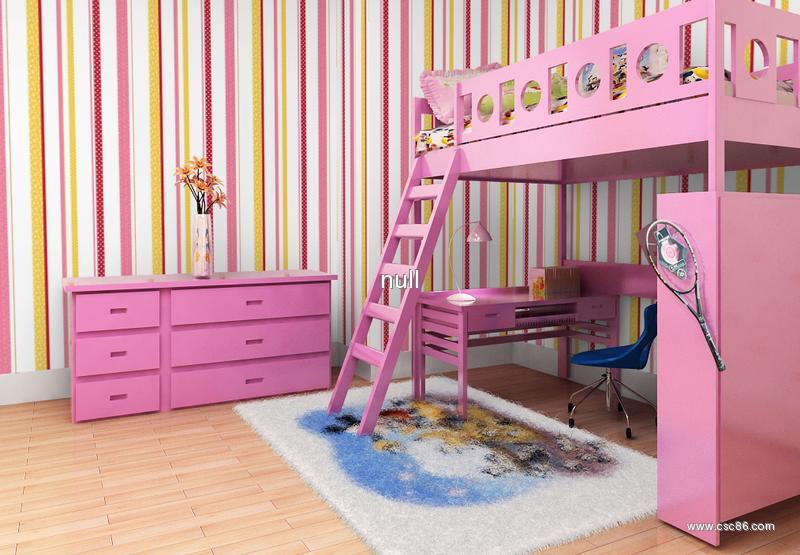 淡粉色欧式墙面壁纸