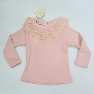 2014韩版童装女童冬款加绒加厚打底衫