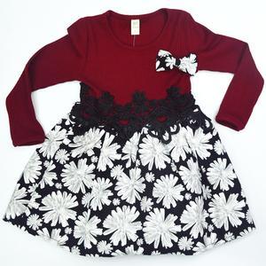 新款女童时尚针织连衣裙打底