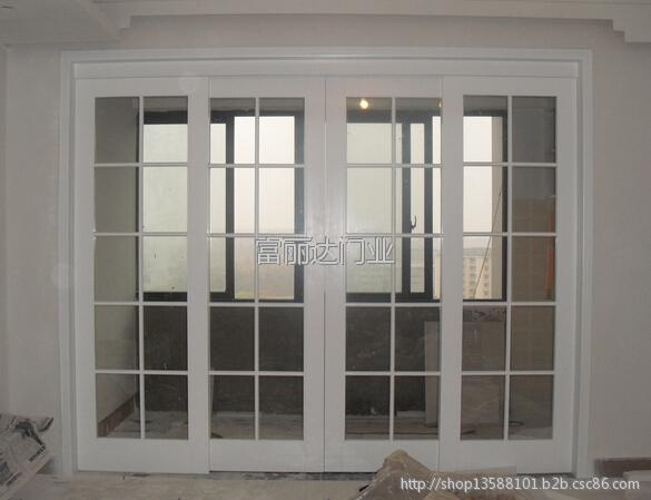 室内复合烤漆推拉门实木烤漆门隔断门厨房