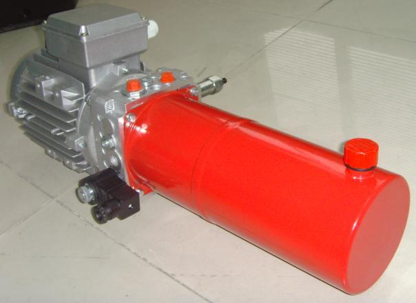 电动环卫车液压系统 自卸车动力单元 翻桶车液压系统图片
