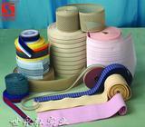 厂家提供丝光、针织、提花松紧带、可来样订做!