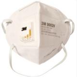 3M带呼吸阀口罩 劳保防尘口罩 头戴式口罩