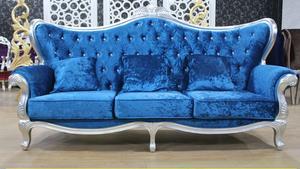 欧式沙发 客厅1+2+3沙发 布艺沙发组合 实木高