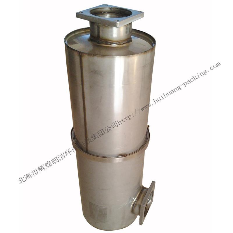 柴油发动机scr催化消声器 柴油车消声器价格图片