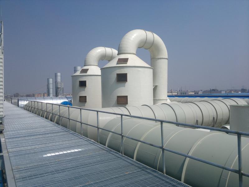 废气处理设备-洗涤塔