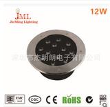 热卖12*1W埋地灯  LED大功率地埋灯具