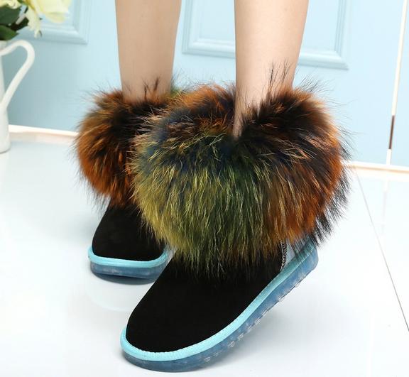 冬款 雪地靴