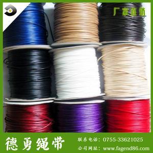 厂家直销,环保棉蜡绳,项链挂件蜡线,进口韩国编织蜡绳
