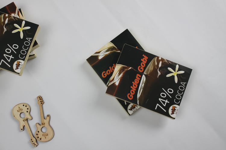 蒙古金戈壁进口74%可可巧克力