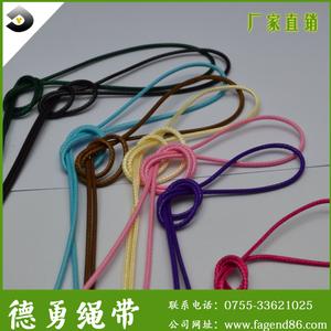 批发销售0.8—2.2mm韩国蜡绳彩色编织蜡线,常规都有现货