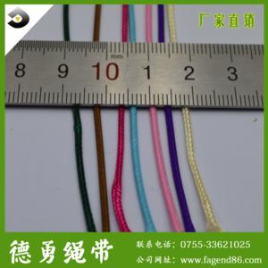 优质供应环保国产蜡绳iy进口蜡线彩色编织韩国蜡绳 量大从优