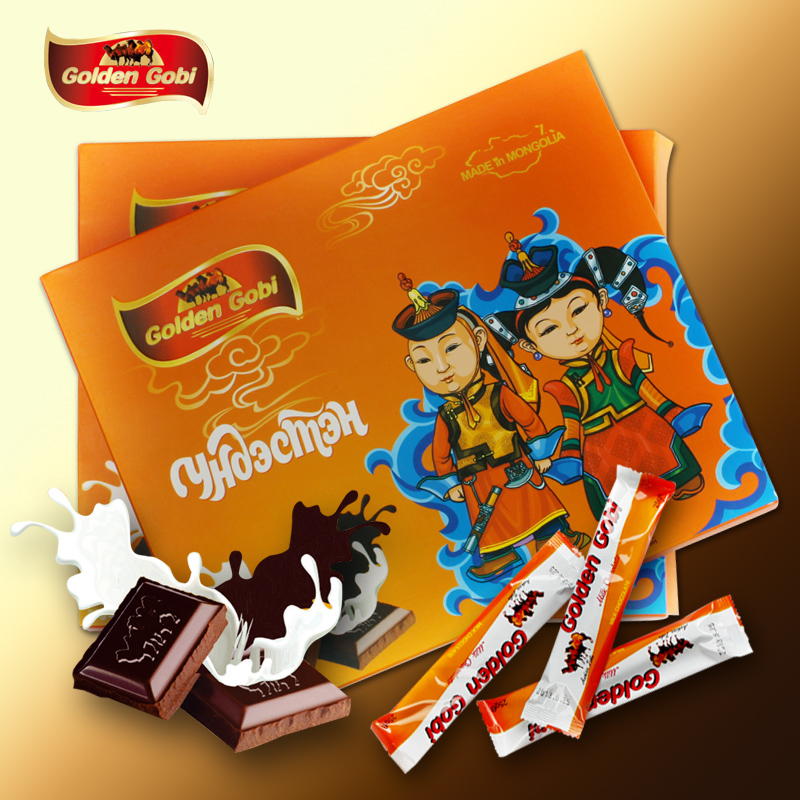 蒙古金戈壁进口巧克力民族风