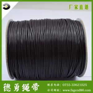 厂家推荐,彩色编织蜡绳,环保棉蜡线,diy饰品蜡绳,量大从优