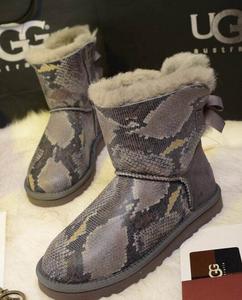 女士时尚 短筒雪地靴