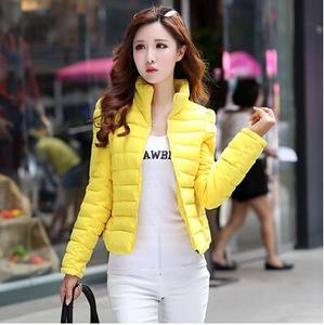 2014新款时尚修身韩版羽绒服 女