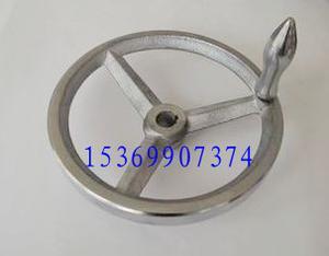 铸铁镀铬手轮 款式多 价钱低