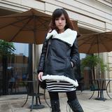 温暖又时尚,经典麂皮绒外套