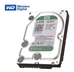 WD /西部数据  绿盘 WD20EZRX  2TB硬盘