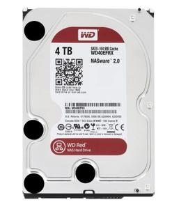 WD/西部数据 WD40EFRX 4TB  红盘硬盘
