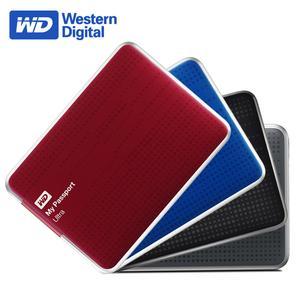 WD/西Ultra 500G 移动硬盘USB3.0超薄