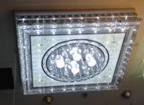 客厅灯现代简约时尚水晶灯led吸顶灯