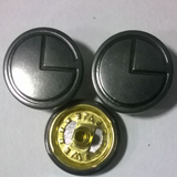 17#四合钮扣 工字扣 牛仔扣  四合底三件 金属钮扣