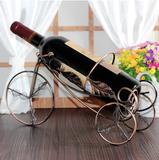 欧式创意红酒架铁艺酒柜装饰品客厅摆件新家居摆设工艺