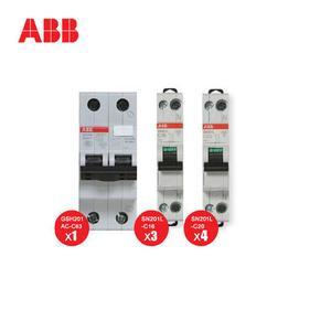 ABB 家用配电优惠套装 含空气开关 漏电保护器