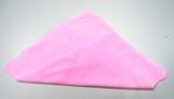 粉红、纬编超柔绒布