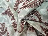 羽绒服尼龙树叶印花面料尼丝纺