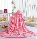 宜莎冬季加厚云貂绒毛毯珊瑚绒毯法兰绒毯