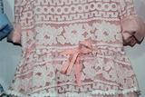 女童棉麻混纺带蕾丝裙 连衣裙 上身裙