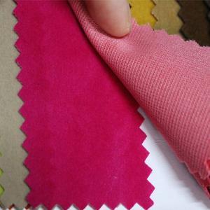 厂家现货供应 鹿皮绒植绒布 包装盒植绒布
