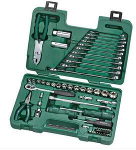 世达工具箱56件套装组合棘轮套筒