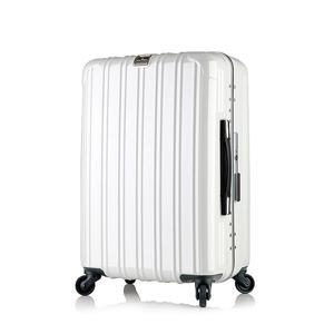 新款万向轮拉杆箱窄铝框行李箱旅行箱